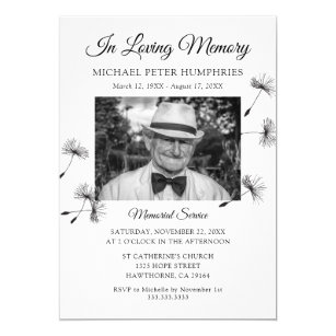 50% Off Funeral Invitations