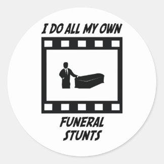 Funeral Stunts Sticker