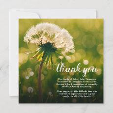 Funeral Thank You | Dandelion Wish Bereavement