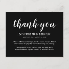 Funeral Thank You Note | Behreavement Sympathy