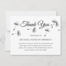 Funeral Thank You Note | Elegant Wish Memorial