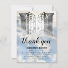 Funeral Thank You Note | Gates of Heaven