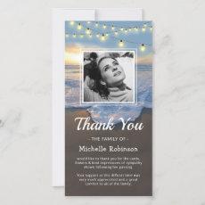 Funeral Thank You | Sympathy Ocean