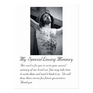 Funeral Wedding Special Memory Card