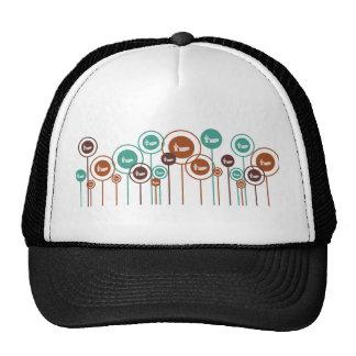 Funerals Daisies Trucker Hat