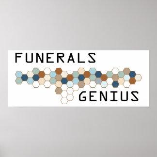 Funerals Genius Poster