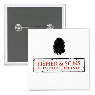 Funeraria de Fisher y de los hijos Pin