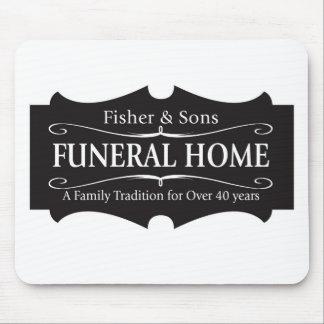 Funeraria de Fisher y de los hijos Tapete De Ratón
