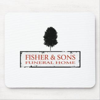 Funeraria de Fisher y de los hijos Tapete De Ratones