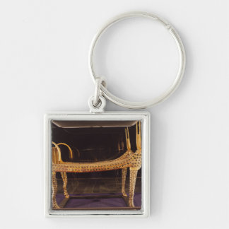 Funerary bed in the form of the sacred cow keychain