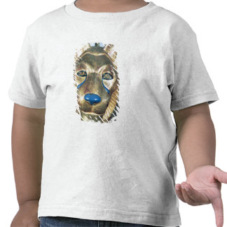 Funerary bedhead in the form of a lion t shirt