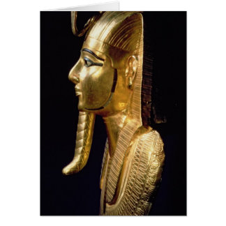 Funerary mask of Psusennes I Card