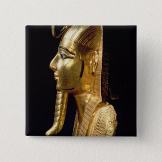 Funerary mask of Psusennes I Pinback Button