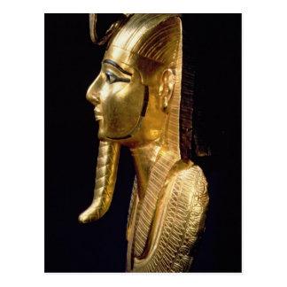 Funerary mask of Psusennes I Postcard