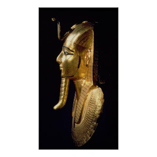 Funerary mask of Psusennes I Poster