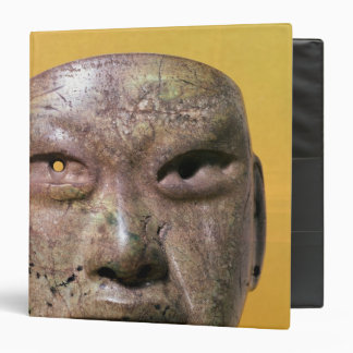 Funerary mask, Olmec, from Mexico Binder