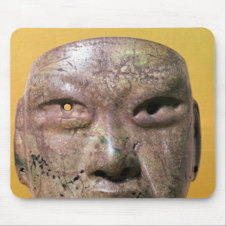 Funerary mask, Olmec, from Mexico Mouse Pad