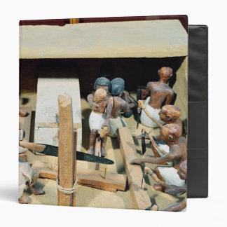Funerary model of a carpentry workshop binder