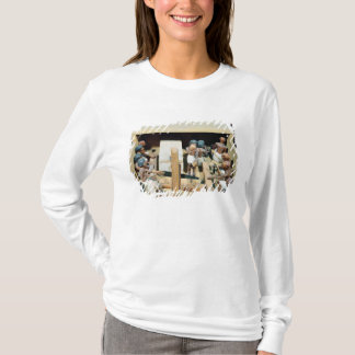 Funerary model of a carpentry workshop T-Shirt