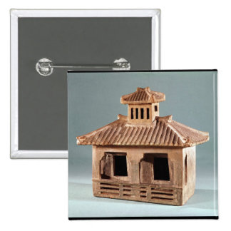 Funerary model of a house, Han Dynasty Button