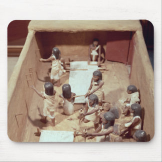 Funerary model of a textile workshop mouse pad