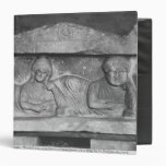 Funerary relief of a couple, from Palmyra, Syria Vinyl Binder