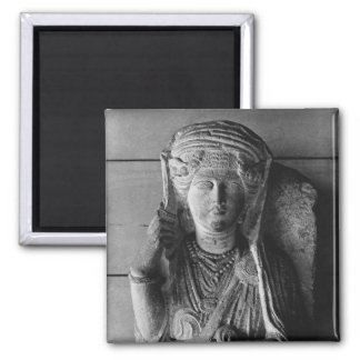 Funerary relief of a female figure, from Palmyra Magnet