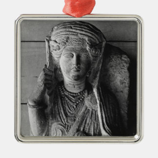 Funerary relief of a female figure, from Palmyra Metal Ornament