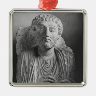 Funerary relief of a male figure, from Palmyra Christmas Ornament