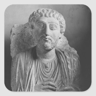 Funerary relief of a male figure, from Palmyra Square Sticker