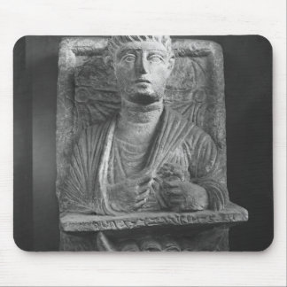 Funerary relief of Athenourou, from Palmyra Mouse Pad