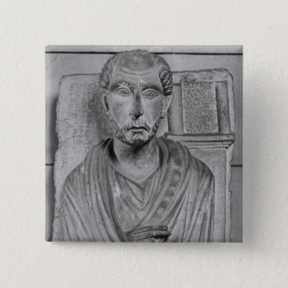 Funerary relief of Marcus J. Aristides Button