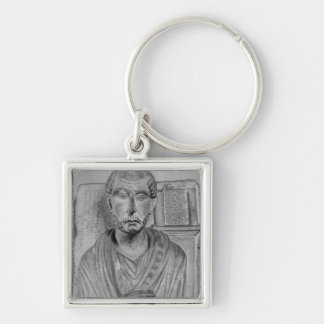 Funerary relief of Marcus J. Aristides Keychain