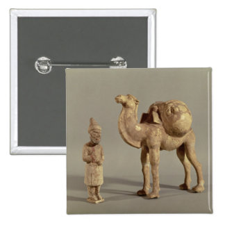 Funerary statuettes of a laden camel button