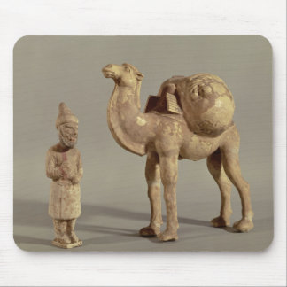 Funerary statuettes of a laden camel mouse pad