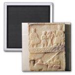 Funerary stela, from Yemen Fridge Magnet