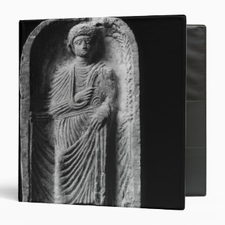 Funerary stela of a man, discovered in Palmyra 3 Ring Binder