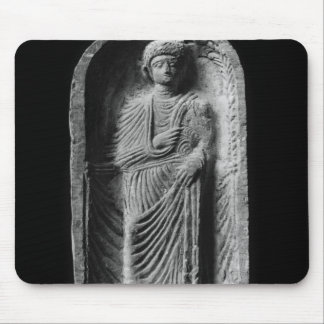 Funerary stela of a man, discovered in Palmyra Mouse Pad