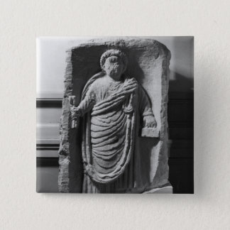 Funerary stela of a notary, from Deux-Sevres Button