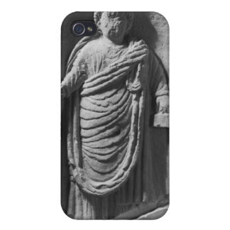 Funerary stela of a notary, from Deux-Sevres iPhone 4 Cover