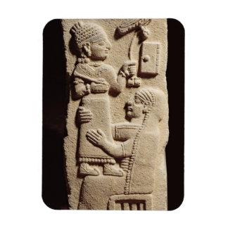 Funerary stele of the scribe Tarhunpijas, Neo-Hitt Rectangular Photo Magnet