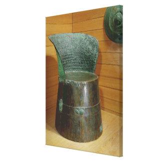 Funerary throne, Villanovan period, 1st half 7th c Canvas Prints