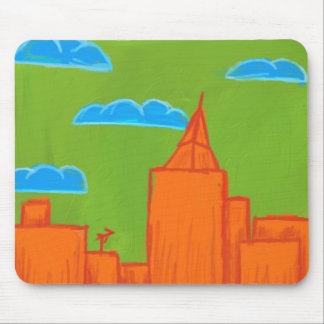 Funerful City Mouse Pad