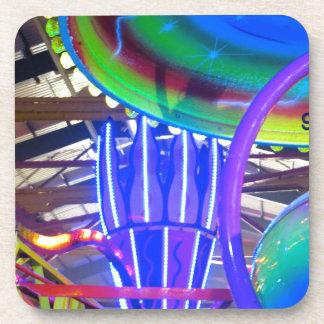Funfair Lights Drink Coaster