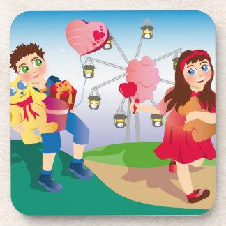 Funfair Love Beverage Coaster
