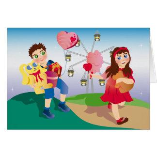 Funfair Love Card