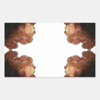 Fungal Accent #1, small Rectangular Sticker