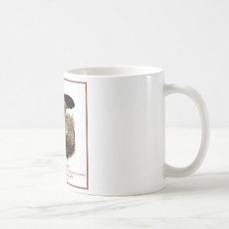 fungi #11 basic white mug