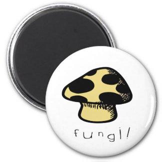 fungi 2 inch round magnet