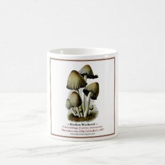 fungi #4 basic white mug